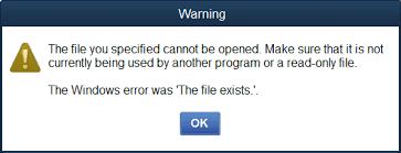 Window error