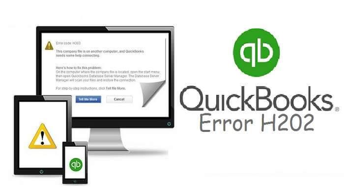 Quickbook Errors H202- Causes